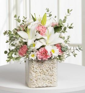 bahar çiçekleri lilyumlar